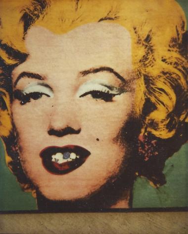 Marilyn Polaroid by Tim Greathouse