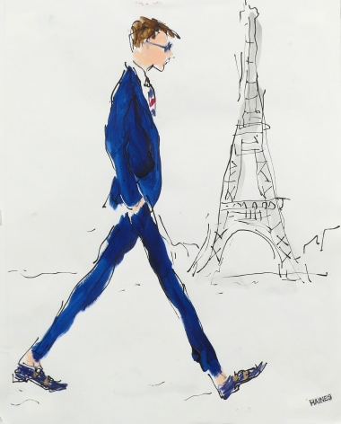 Richard Haines, Paris