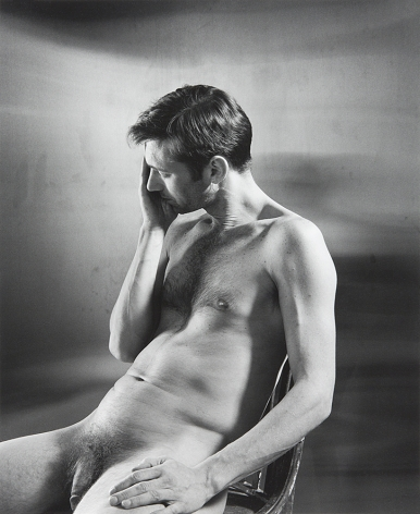 Nude man by Stephen Barker
