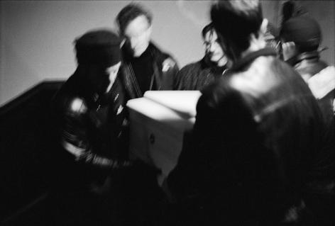 Men carrying casket by Stephen Barker