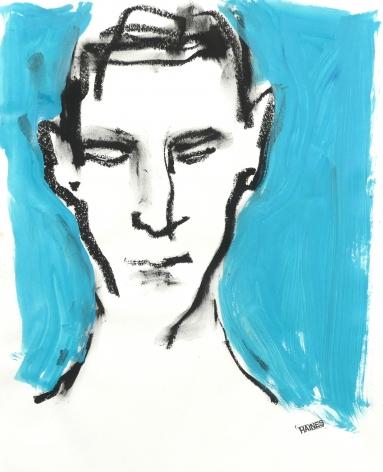 Richard Haines, Blue Portrait