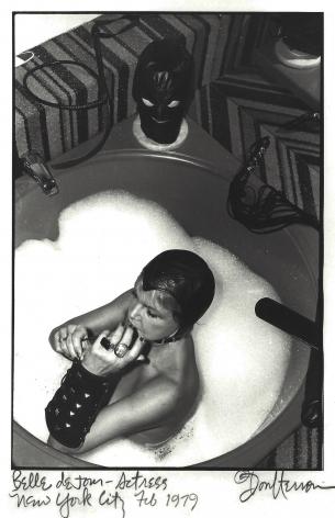 Belle De Jour in bathtub by Don Herron