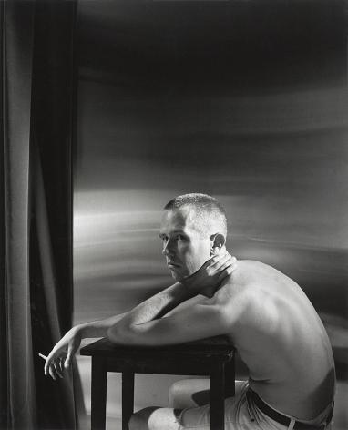 Man smoking by Stephen Barker
