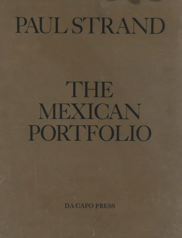Cover of Paul Strand Mexican Portfolio