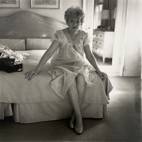 Diane Arbus, Woman In Negligee