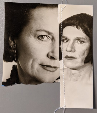 Christopher Makos, Untitled Sewn Portrait Warhol