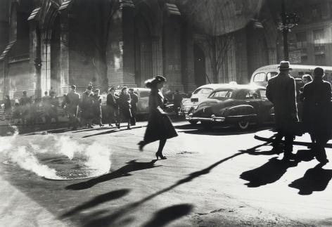 Rebecca Lepkoff, Girl Running, 1947