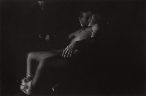 Men in movie theater by Stephen Barker