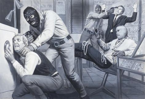 Samson Pollen, Terror Heist