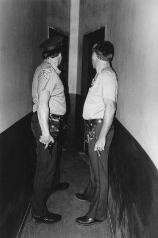 Jill Freedman, Man With a Gun