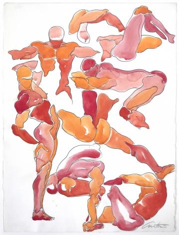 Color drawing by Antonio Lopez