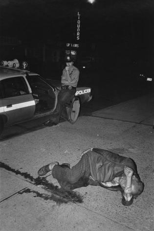 Jill Freedman, Homeless Man