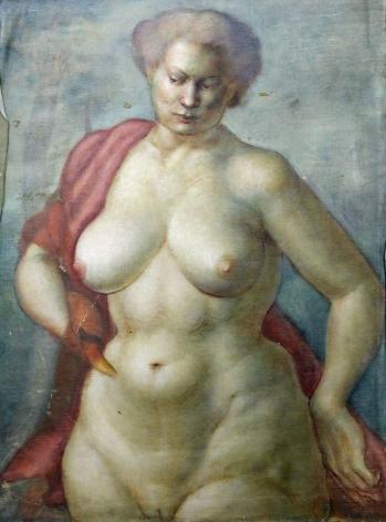 Bernard Perlin, Female Nude