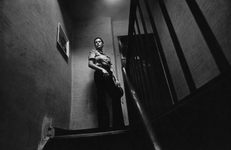Jill Freedman, They Say Women Don't Want To Work The Street