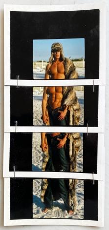 Christopher Makos, Fur Coat On Miami Beach