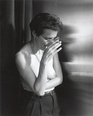 Woman smoking by Stephen Barker
