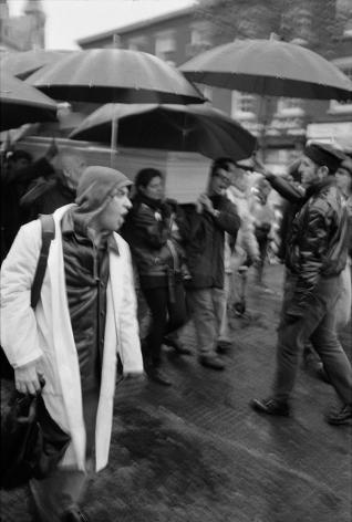 Man shouting by Stephen Barker