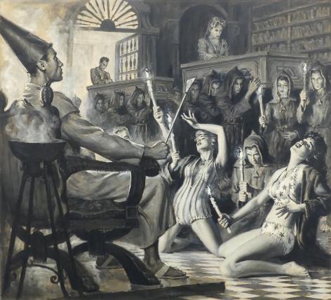 Samson Pollen, In The Tomb