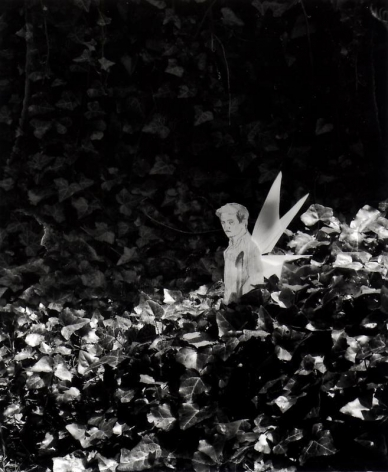 Hernan Bas. Untitled 3, from the series 'A bunch of fairies,'2011.Gelatin silver print, 12 x 9.6 cm (image) 37 x 29.5 cm (framed).Courtesy of the artist & PKM TrinityGallery.