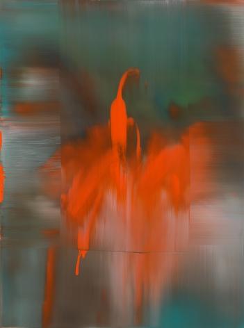 Shin Min Joo. Uncertain Emptiness 20-4, 2020,Acrylic on canvas,130 x 97 cm.Courtesy of the artist &PKM Gallery.
