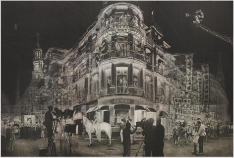 Cho Duck Hyun.1935, 2017.Graphite on oriental paper, 582 x 391 cm. Courtesy of the artist & PKM Gallery.