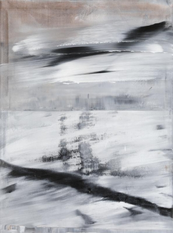 Shin Minjoo. Uncertain Emptiness 15069, 2015.Acrylic on canvas, 130 x 97 cm. Courtesy of the artist & PKM Gallery.