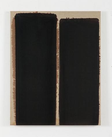 Yun Hyong-keun. Burnt umber & Ultramarine, 1993. Oil on linen. 90.9 x 73  cm. Courtesy of the artist and P K M Gallery.