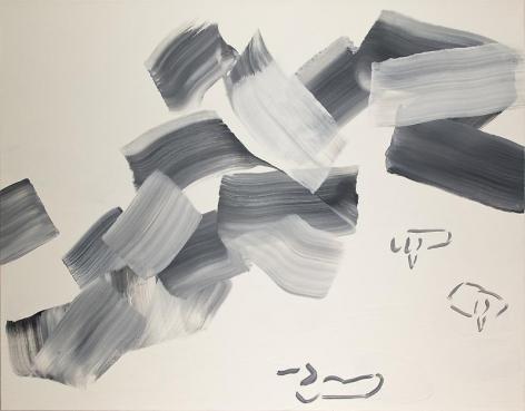 Lee Kangso. 10061419 - 虛 Emptiness, 2010. Acrylic on canvas, 91 x 116.7cm.