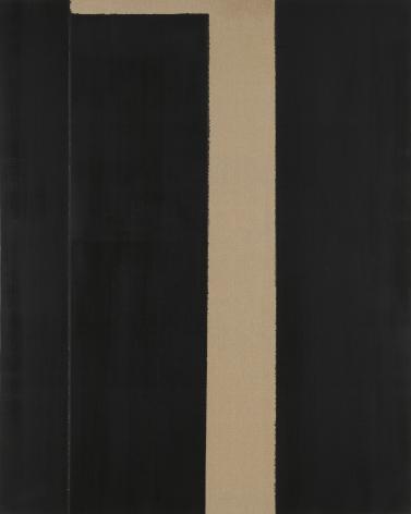 Yun Hyong-keun. Burnt Umber & Ultramarine Blue, 1999, Oil on linen, 227.5 x 181.6 cm. Courtesy of PKM Gallery.