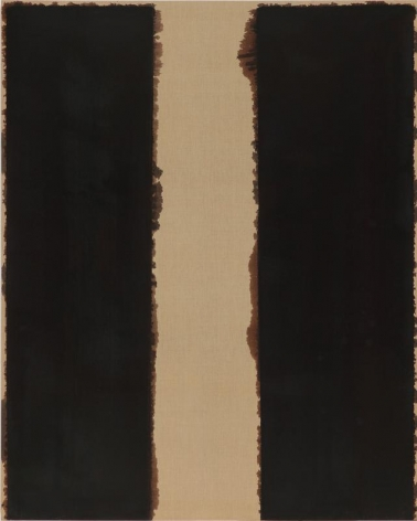 Yun Hyong-keun. Untitled, 1993. Oil on linen, 227 x 181.5 cm. Courtesy of Yun Seong-ryeol and PKM Gallery.