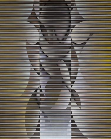 Kim Teaho. Form 82-29, 1982, Acrylic on canvas, 162 x 130 cm. Courtesy of the artist & PKM Gallery.