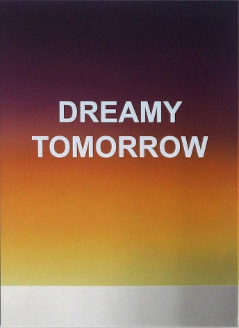 Wonwoo Lee. DREAMY TOMORROW, 2016. Paint on stainless steel, 54 x 40 cm. Courtesy of the Artist & PKM Gallery.