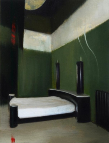 Noori Lee. Room 20 (trace), 2012. Oil and acrylic on canvas, 40 x 30 cm