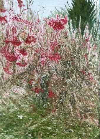 Jiwon Kim. Mendrami, 2011. Oil on linen, 91 x 73 cm.