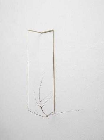 Koo Hyunmo. Cornus 1 (from Irwon-village), 2014. Silver, brass, 56 x 35 x 28 cm. Courtesy of the artist & PKM Gallery.