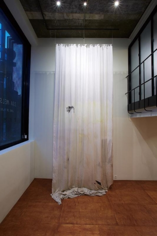 Isa Melsheimer. Installation view of solo exhibition. PKM Gallery Temporary Exhibition Space, 2013.