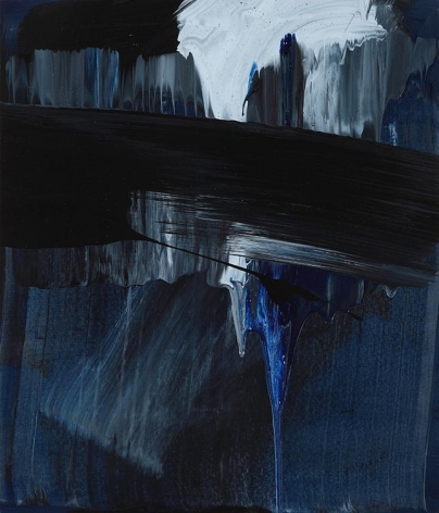 Sihn Min Joo. uncertain emptiness 14057, 2014. Acrylic on canvas, 45 x 53 cm. Courtesy of the artist & PKM Gallery.