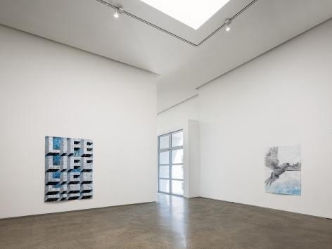 """Installation view of """"Gabriel Vormstein: LIFE"""" at PKM. Courtesy of PKM Gallery."""