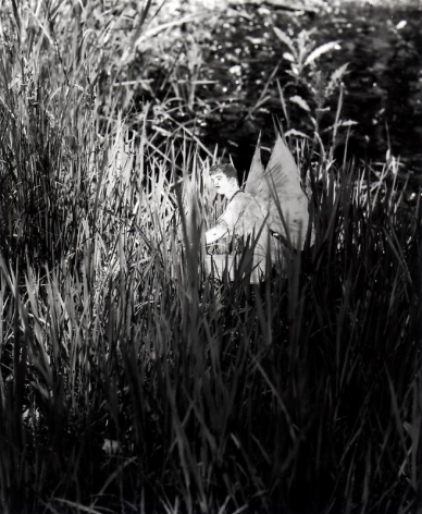 Hernan Bas. Untitled 10, from the series 'A bunch of fairies,'2011.Gelatin silver print, 12 x 9.6 cm (image) 37 x 29.5 cm (framed).Courtesy of the artist & PKM TrinityGallery.