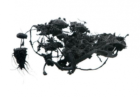 Ham Jin. Untitled 17, 2011. Polymer clay and mixed media, 16 x 15 x 8 cm. Courtesy of the artist and PKM Gallery