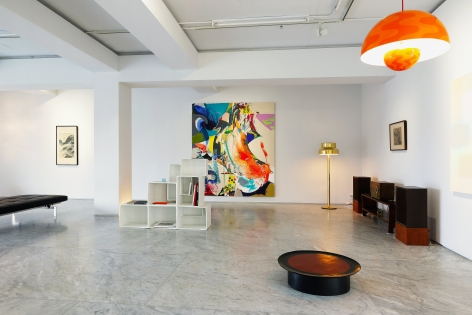 """Installation view of """"Time in Space : The Life Style"""" at PKM+. Courtesy of PKM Gallery."""