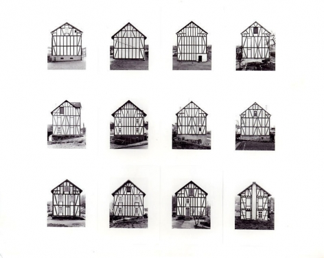 Bernd & Hilla Becher. Framework Houses (Ed. 100), 1993. 194 x 208 cm.Courtesy of the artist & PKM Gallery.