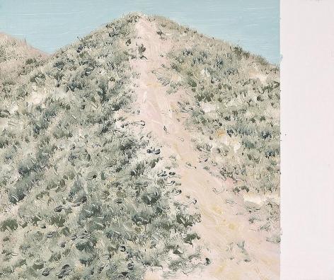 Jiwon Kim. Dry Landscape, 2007. Oil on linen, 38 x 45.5 cm.Courtesy of the artist & PKM Gallery.