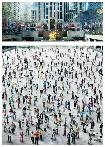 Sangbin IM. People- Rockerfeller, 2010. Lambda print, 47.6 cm x 121.9 cm / 102.2 cm x 121.9 cm, Edition of 5 + 3AP.