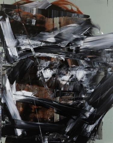 Shin Minjoo. Uncertain Emptiness 17010, 2017. Acrylic on canvas, 227 x 182 cm. Courtesy of the artist & PKM Gallery.