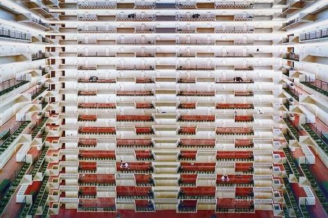 Andreas Gursky. Atlanta, 1996. C-print in artist's frame, 186.5 x 259.5 cm