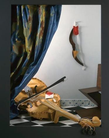 Claes Oldenburg and Coosje van Bruggen. Resonances, after J. V., 2000.148.5 cm x 140.2 cm x 41 cm. © 2000 Claes Oldenburg and Coosje van Bruggen, New York. Photo Courtesy Pace Gallery.
