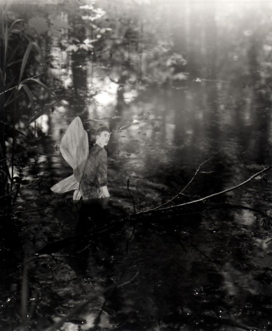 Hernan Bas. Untitled 7, from the series 'A bunch of fairies,' 2011.Gelatin silver print, 12 x 9.6 cm (image) 37 x 29.5 cm (framed).Courtesy of the artist & PKM TrinityGallery.