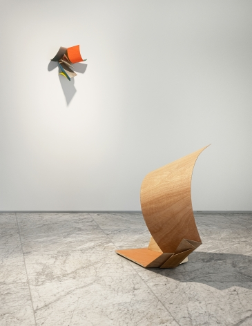 """Installation view of """"Koo Hyunmo: resemble"""" at PKM+. Courtesy of PKM Gallery."""