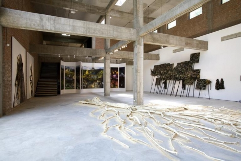 2D and 3D, 1st floor installation shot. Courtesy of the artist & PKM Gallery.